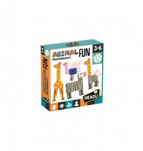 Montessori Animalute Tactile Amuzante