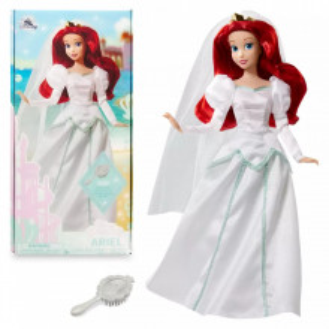 Papusa printesa Disney Ariel mireasa ECO