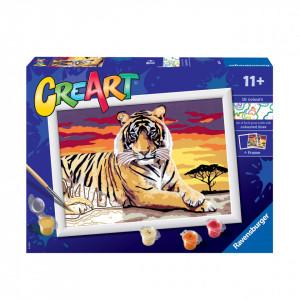 Pictura Pe Numere - Tigru