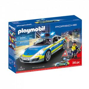 Playmobil Porsche Politie 911 Carrera 4S