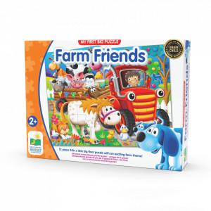 Primul Meu Puzzle De Podea - Animale La Ferma