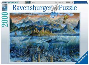 Puzzle Balena Fantastica, 2000 Piese