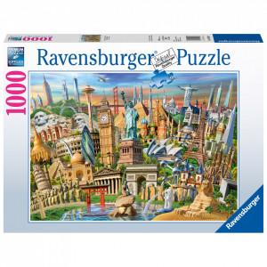 Puzzle Obiective Turistice, 1000 Piese