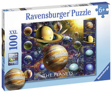 Puzzle Planete, 100 piese