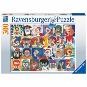 Puzzle Tipuri De Fete, 500 Piese