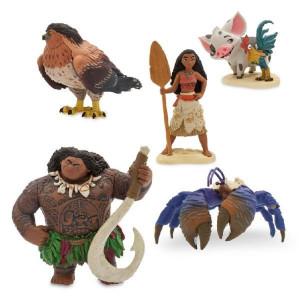 Set 5 Figurine Vaiana
