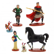 Set 6 Figurine Mulan