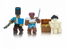 Set cu 2 Figurine Roblox, model Cannoneers Battle For Jollyisland