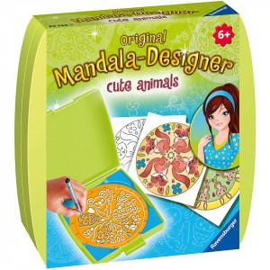 Set De Creatie Mini Mandala Cu Animale
