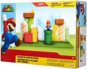 Set de joaca Acorn Plains Super Mario Nintendo, cu figurina Mario 6 cm