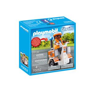 Set de joaca Playmobil, Medic Cu Masina De Echilibru