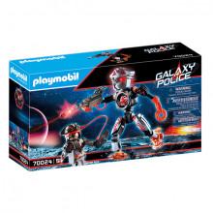 Set de joaca Playmobil, Robotul Piratilor Galactici
