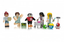 Set de joaca Roblox Celebrity, model Meepcity Meep Hospital, 4 Figurine