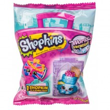 Shopkins figurina + casuta folie