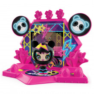 Zoobles Z-Girlz Figurina De Transformare Fetita Ursulet Panda
