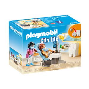 Set de joaca Playmobil City Life, Dentist