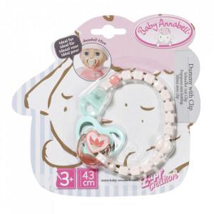 Baby Annabell - Suzeta Cu Lant 43 Cm Diverse Modele