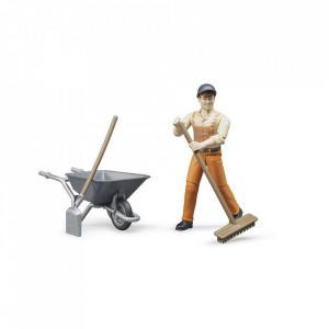 Bruder - Figurina Muncitor Municipal