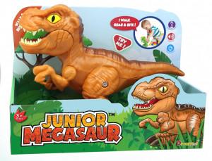 Dinozaur Junior Cu Sunete Si Functie De Mers T-Rex Maro