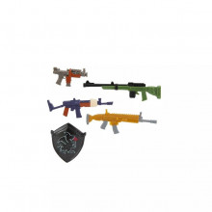 Fortnite Set De Accesorii In Cutie De Armament - Black Shield