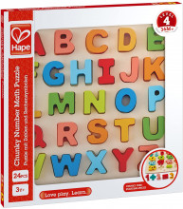 Hape Puzzle Alfabet Chunky