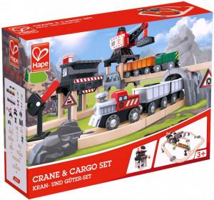 Hape Set Tren Minier