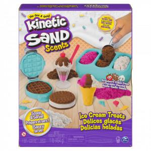 Kinetic Sand Set Inghetata Si Prajiturele Colorate Si Parfumate