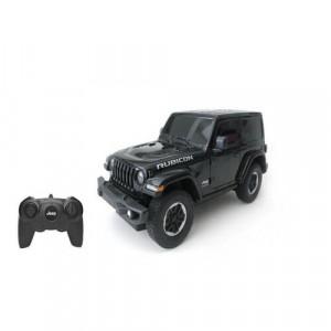 Masina Cu Telecomanda Jeep Wrangler Jl Negru Scara 1 La 24