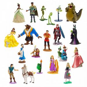 Mega set 20 figurine deluxe Printesele Disney