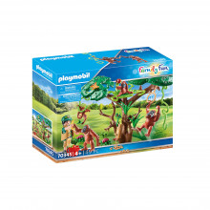 Playmobil Urangutani In Copac
