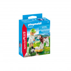 Playmobil Veterinar Cu Vitel