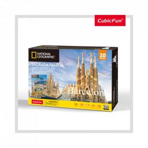Puzzle 3D+Brosura-Sagrada Família 184 Piese