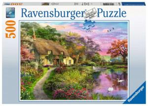Puzzle Casa De La Tara, 500 Piese