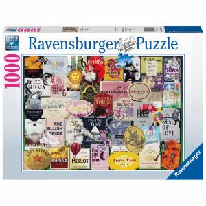 Puzzle Colectia Etichete De Vin, 1000 Piese