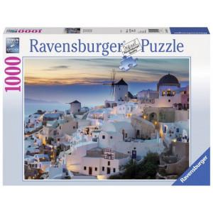 Puzzle Noaptea In Santorini, 1000 Piese