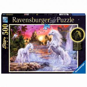 Puzzle Unicorni La Rau, 500 Piese Starline