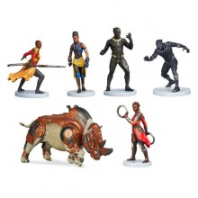 Set 6 figurine Black Panther