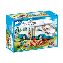 Set de joaca Playmobil Family Fun, Rulota Camping