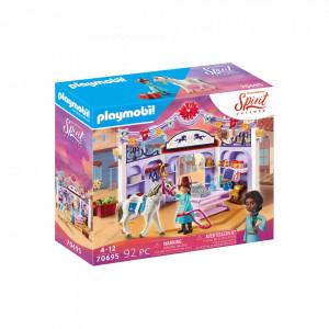 Set de joaca Playmobil Magazin Accesorii Cai In Miradero