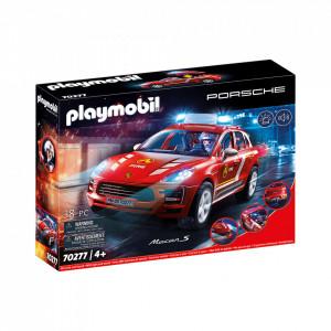 Set de joaca Playmobil Porsche Macan De Pompieri