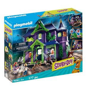 Set de joaca Playmobil Scooby-Doo! Si Casa Misterelor