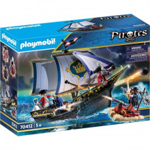 Set de joaca Playmobil, Soldat Britanic Si Caravela