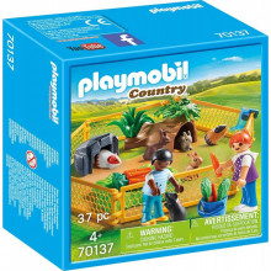 Set de joaca Playmobil, Tarc Cu Animalute