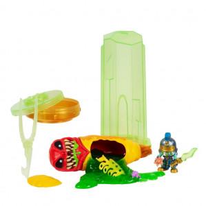 Set figurine Treasure X Alien Hunters - Verde