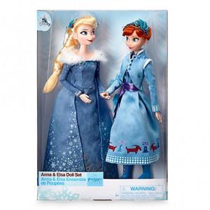 Set papusi Frozen Anna si Elsa din Olaf's Frozen Adventure