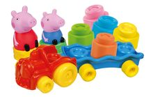 Soft Clemmy - Tren Cu Cuburi Peppa