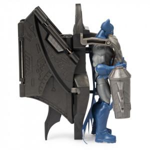 Figurina Batman 10Cm Cu Mega Accesorii Pentru Lupta