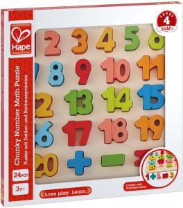Hape Puzzle Matematica Chunky