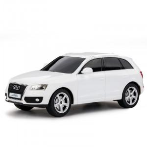 Masina Cu Telecomanda Audi Q5 Alb Cu Scara 1 La 24