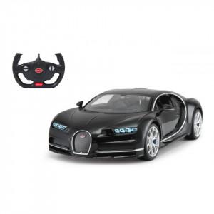 Masina Cu Telecomanda Bugatti Chiron Negru Scara 1 La 14